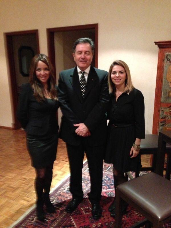 Optucorp na Embaixada do Chile.