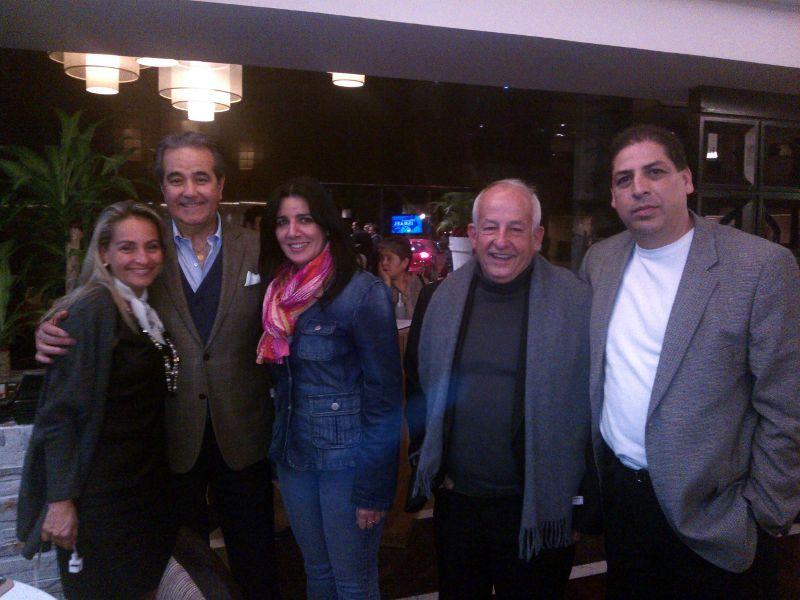 With the secretary of tourism in Guadalajara.