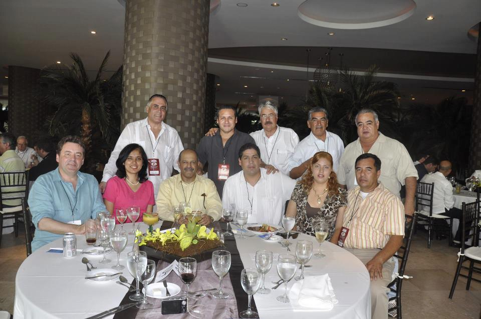 In Puerto Vallarta with His Excellency Ambassador of Germany and India.