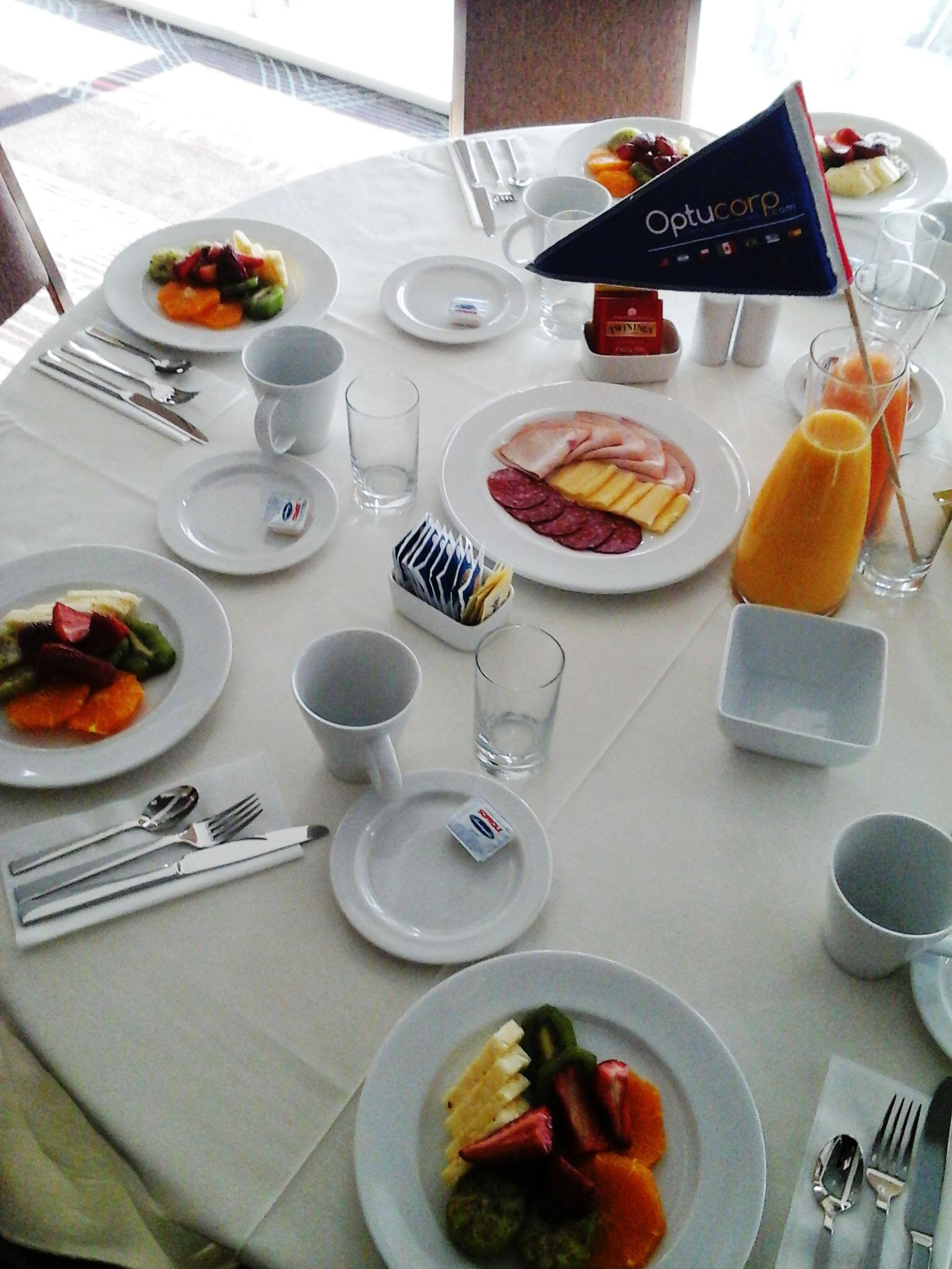 Desayuno de negocios Optucorp & Cicmex