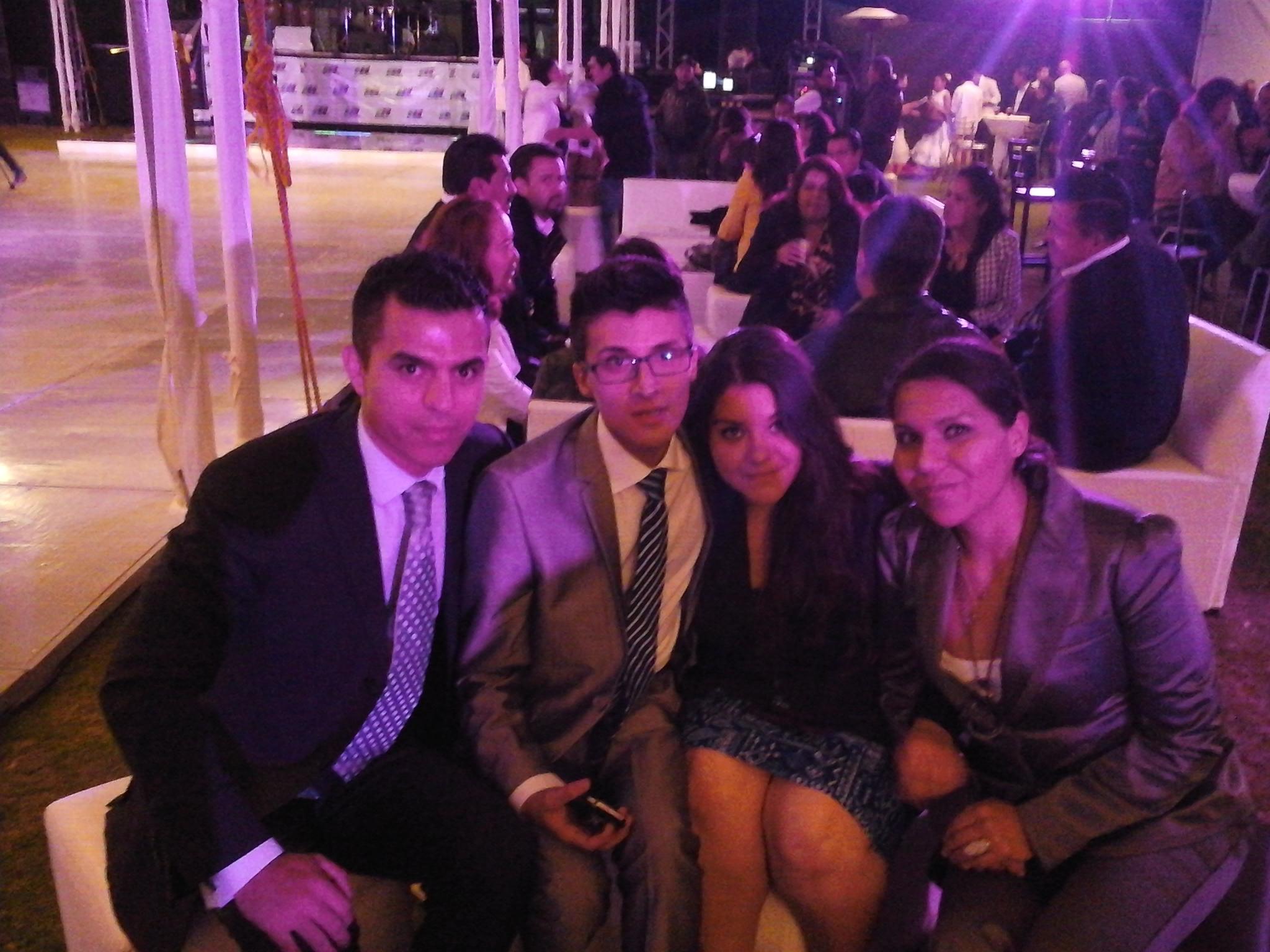Presentación del equipo de Optucorp con los ejecutivos de TV Mexiquense