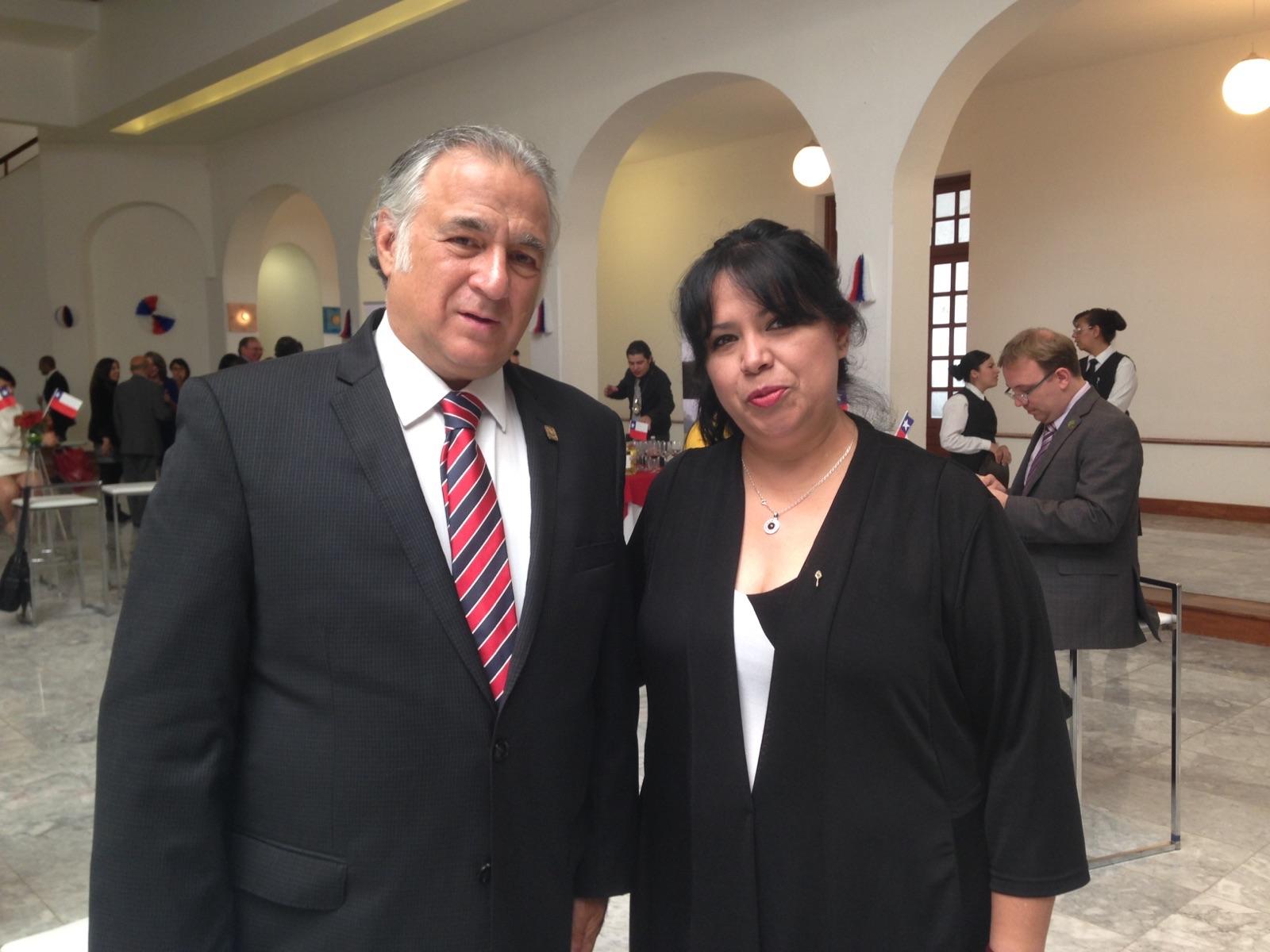 Con Lic Miguel Torruco Márquez Secretario de turismo de la CDMX