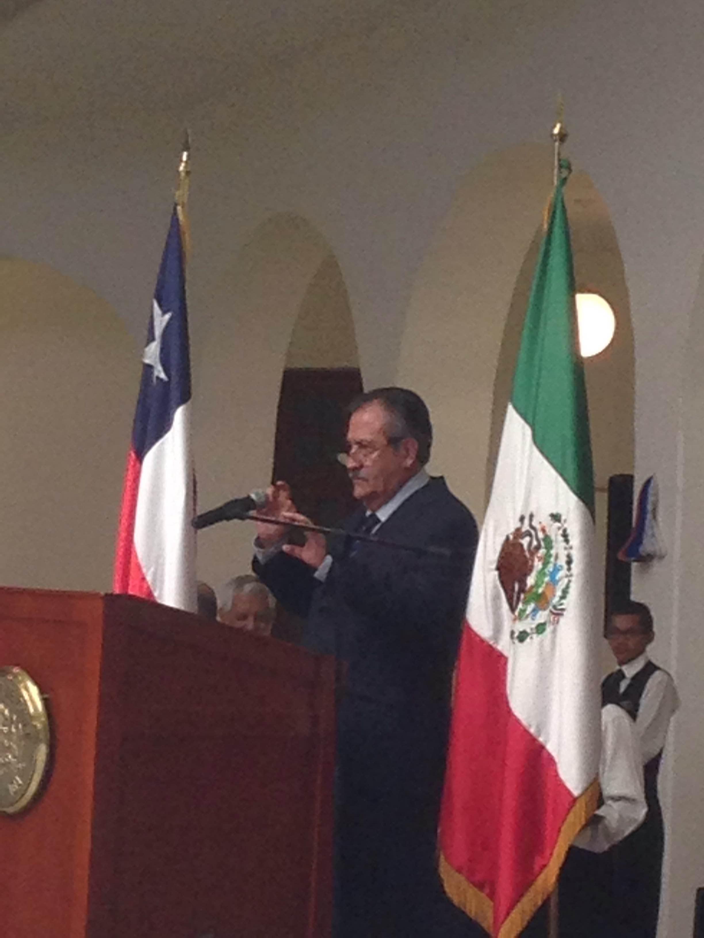 Palabras del Excmo Sr Ricardo Núñez Muñoz, embajador de Chile en México
