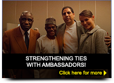 Strengthening ties with ambassadors