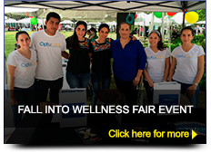 Fall into wellness fair event