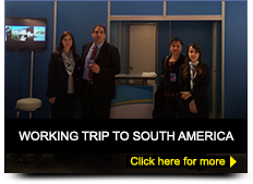 Working trip to south america