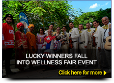 Winners fall into wellness fair event