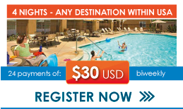 4 nights vacations with Optucorp